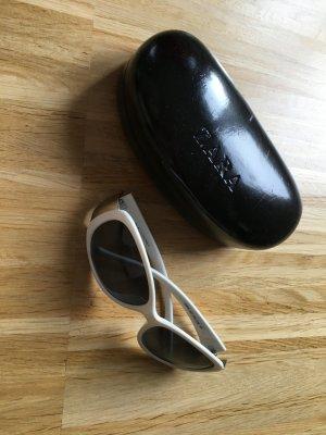 Weiße Sonnenbrille von ZARA