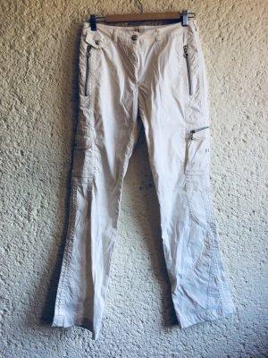 Masters Pantalone da ginnastica bianco Acrilico