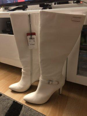 Weiße Stiefel von S. Oliver - NEU Gr. 40