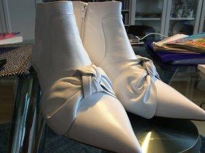 Weiße Stiefeletten von Asos aus Leder in 39
