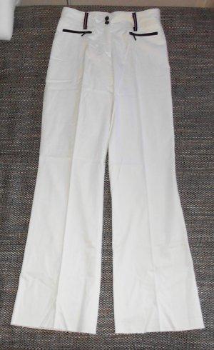 weiße Stoffhose Gr 38