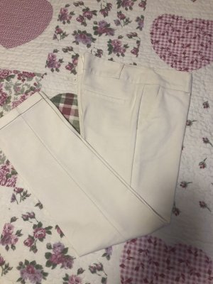 7/8 Length Trousers natural white
