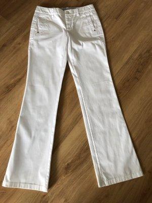 Weiße Stoffhose von Esprit