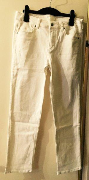 Weiße Stoffhose von H&M