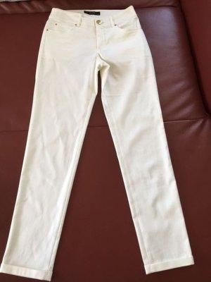 weiße Stoffhose von Hallhuber