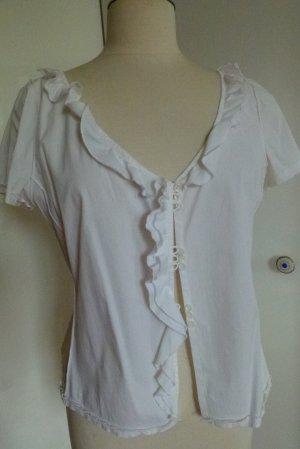 Weiße Stretch Bluse von ERMANNO SCERVINO