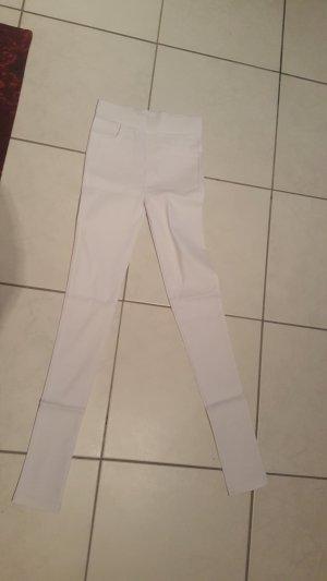 weiße stretch Hose Neu