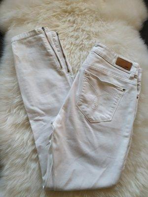 weiße Stretch-Jeans, 7/8 Hose von Esprit in der Größe 34/36 wie neu