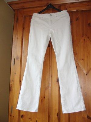 Esprit Jeans bootcut blanc coton