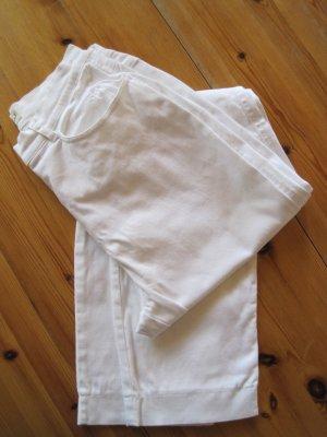 Eddie Bauer Pantalón de cinco bolsillos blanco Algodón