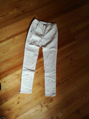 weiße Stretchjeans gr. 40