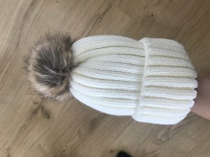 Knitted Hat white