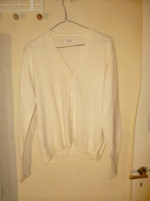 Sweater met korte mouwen wit