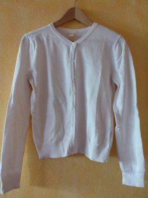 Weiße Strickjacke als Basic von H&M