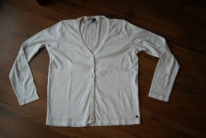 weiße Strickjacke/Cardigan