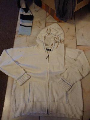 Greystone Sweat Jacket white-light blue
