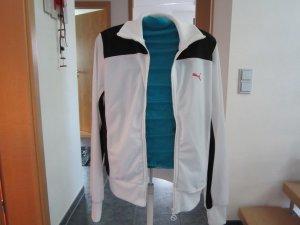 Puma Veste chemise noir-blanc cassé