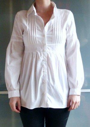 weiße taillierte Vero Moda Bluse Größe S mit ausgestelltet Ärmeln