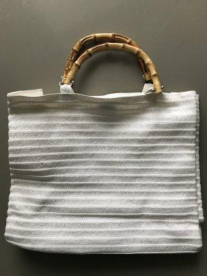 Weiße Tasche