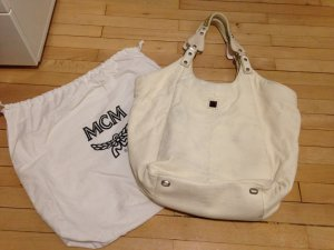 MCM Bag white leather