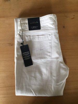 Tommy Hilfiger Denim Boot Cut Jeans white