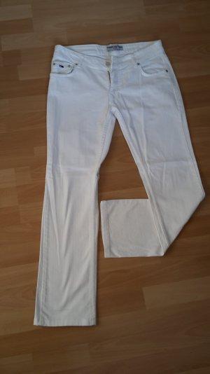 Weiße Tommy Hilfiger Jeans