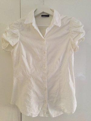 Weiße topshop Bluse.
