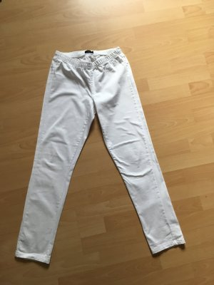 Pieces Treggings white