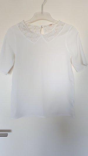 weiße Tshirt Bluse