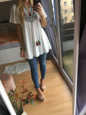 Zara Shirt Tunic multicolored