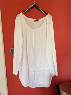 Campus by Marc O'Polo Tuniekblouse wit Linnen