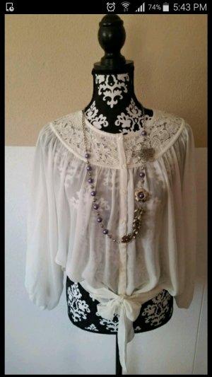 weiße Tunika/Bluse- neu von H&M