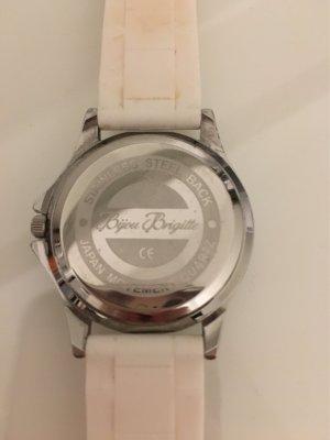 Weiße Uhr von Bijou Brigitte