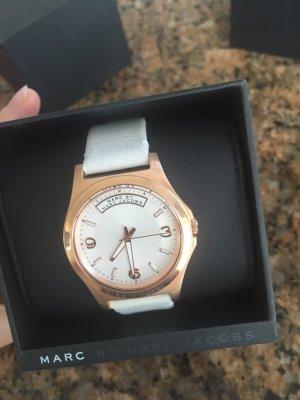 Weiße Uhr von Marc Jacobs