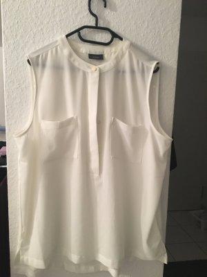 Weiße ungetragene Bluse