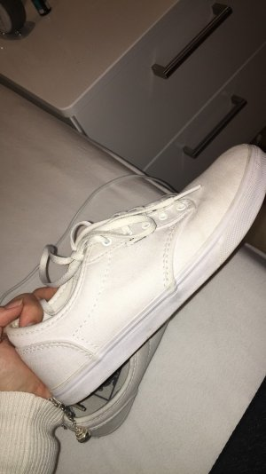 Weiße Vans