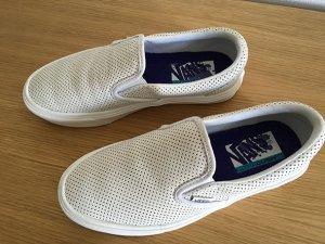 Vans Zapatillas deslizantes blanco Cuero