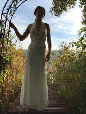 Aftershock London Vestido de novia blanco-crema