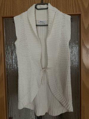 Yessica Crochet Cardigan natural white