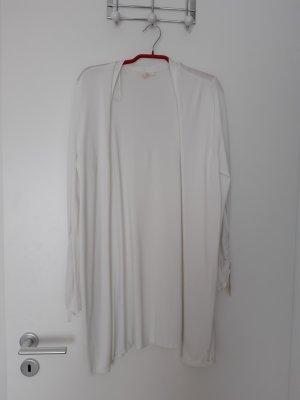 Esprit Gilet tricoté blanc