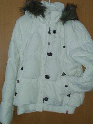 weiße Winter Daunenjacke von edc