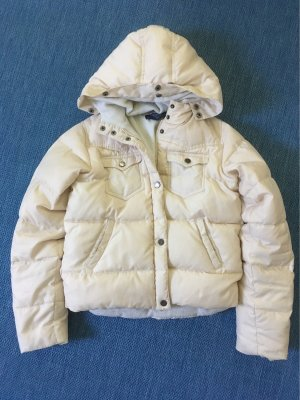Weiße Winterjacke von Ralph Lauren