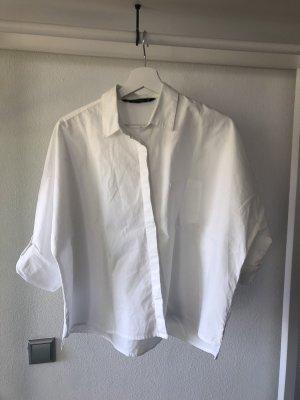 Weiße ZARA Bluse