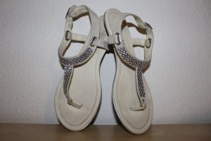 Marco Tozzi Teenslippers wit