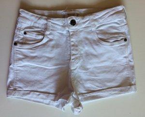 Weißen Kurze Hose von MANGO