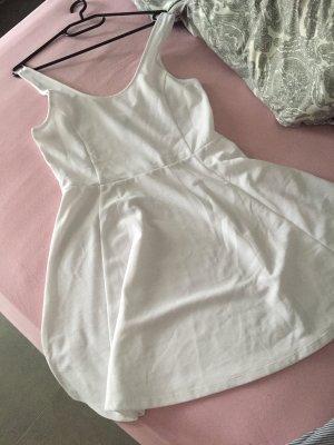 Weißen Sommer kleid