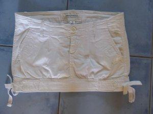 weißer Abercrombie Minirock