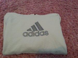 Weißer Adidas Pullover