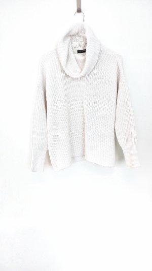 American Apparel Maglione dolcevita bianco Cotone
