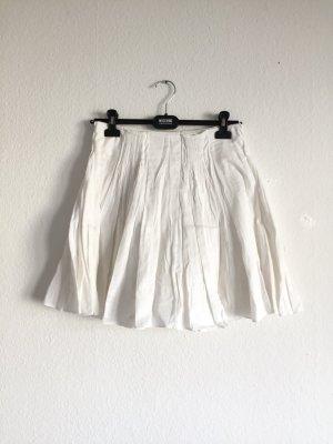 Prada Pleated Skirt white
